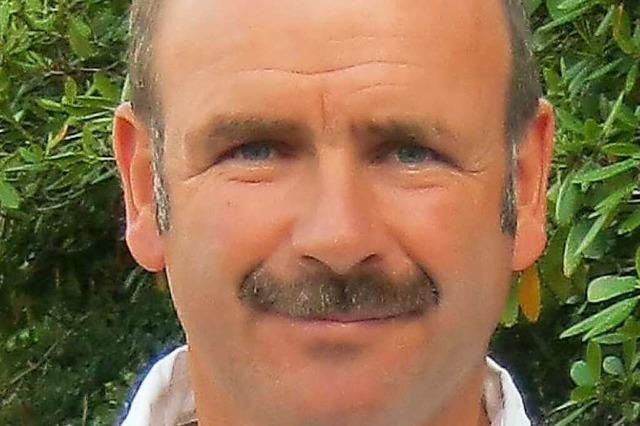 Franz Benz aus Bottenau, Vizepräsident des Badischen Weinbauverbandes