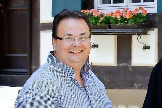Lothar Kimmig, Vorstandsmitglied der Weinbruderschaft Ortenau
