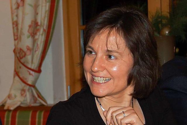 Astrid Heß, geprüfte Sommelière und Mitglied der Weinbruderschaft Ortenau