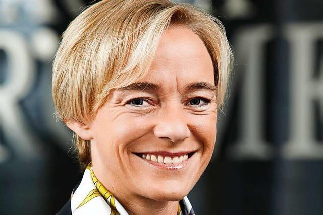 Christina Lauber, Geschäftsführerin der Badischer Wein GmbH