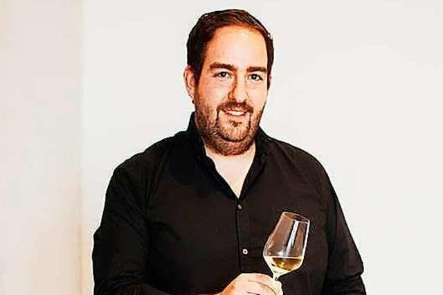 Winzermeister Michael Weber vom Weingut Weber in Ettenheim
