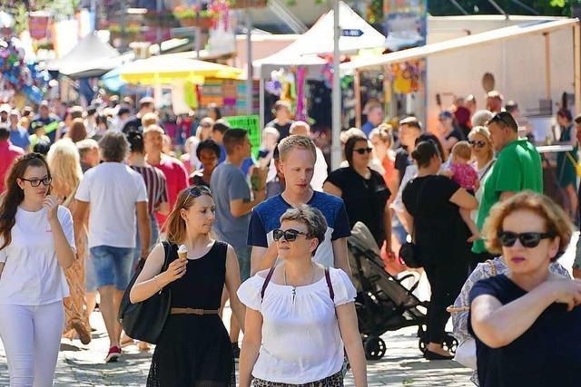 Kontaktverfolgung wäre beim Rheinfelder City-Fest nicht möglich