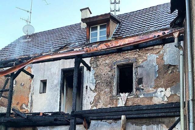 Nach dem Brand in Kandern-Riedlingen ermittelt die Staatsanwaltschaft