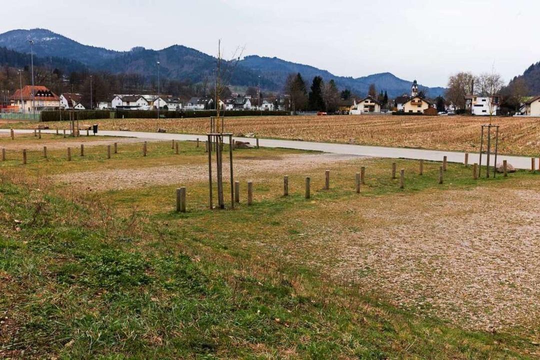 Für das Gebiet zwischen Sportplatz und... ein Bebauungsplan aufgestellt werden.    Foto: Gabriele Zahn