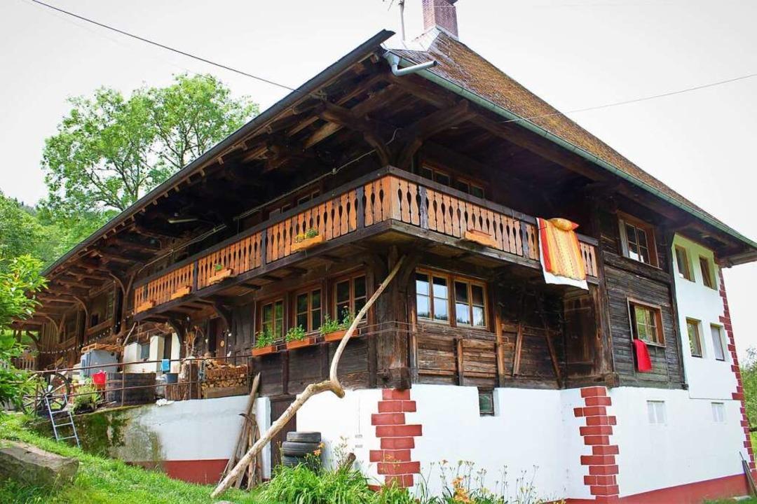 Umgebaut werden soll der Schweizerhof auf der Gemarkung Weilersbach.    Foto: Erich Krieger