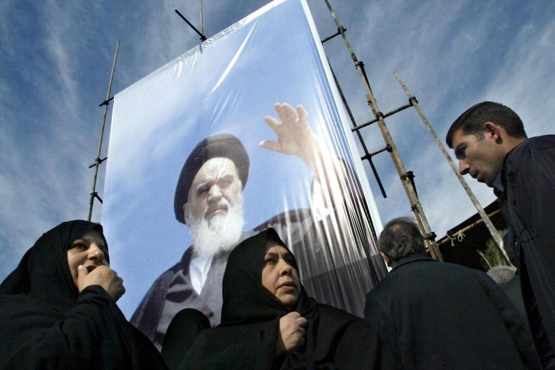 Noch heute prägen die Folgen der Zeit ...Jahrestag der islamischen Revolution).    Foto: BEHROUZ MEHRI