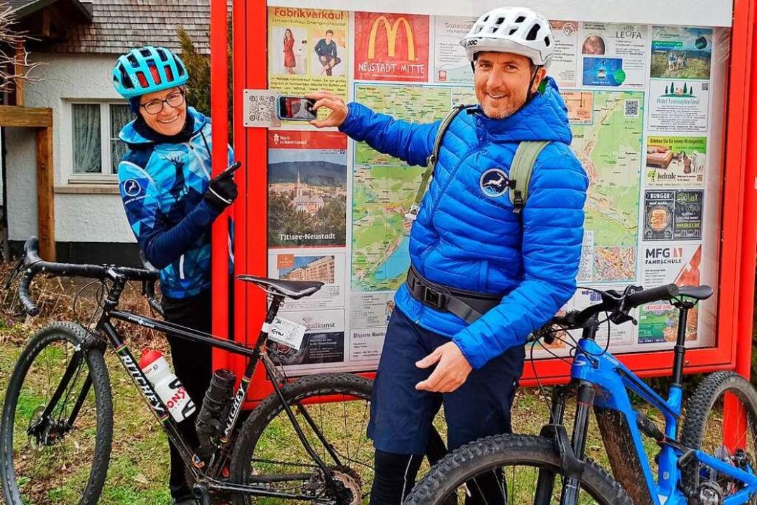 Eva und Björn Fünfgeld wollen mit der ...ls geben für nachhaltigeren Tourismus.  | Foto: Anja Bieber