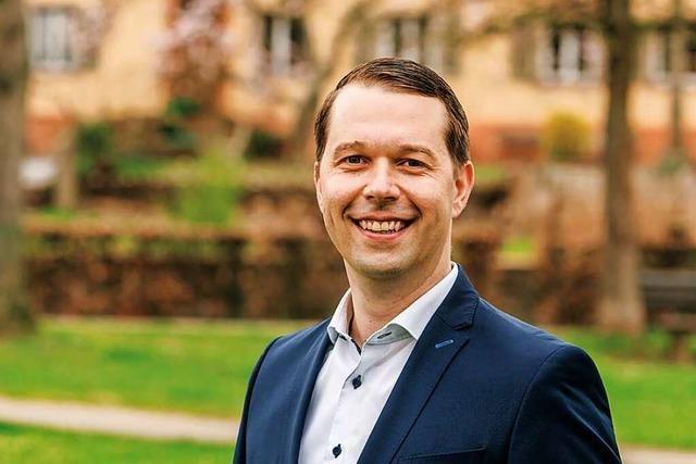 Marco Gutmann möchte für das Amt des Bürgermeisters kandidieren
