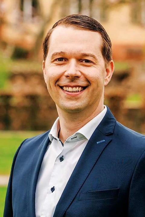 Marco Gutmann möchte im Juli in Hohber...as Amt des Bürgermeisters kandidieren.  | Foto: Michael Rosenstiel