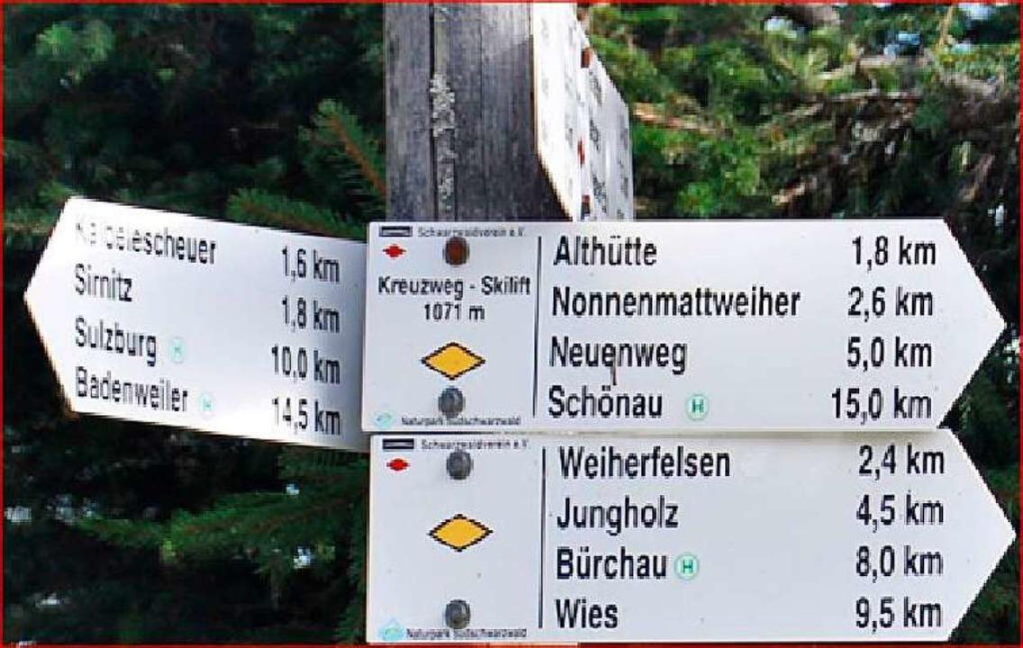 Der Kreuzweg ist Ausgangspunkt für zahlreiche Routen.  | Foto: Privat