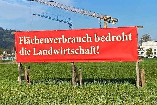 Immer mehr neues Bauland wird erschlossen, anstatt Lücken geschlossen