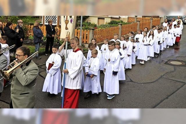 Erstkommunionfeier so ganz anders