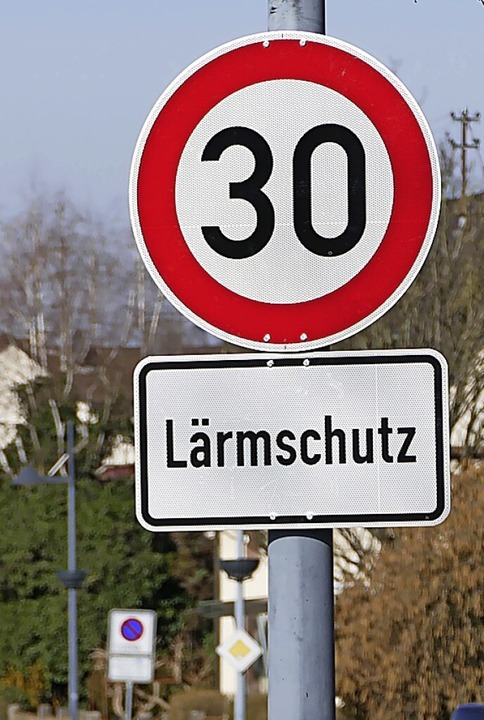 Bislang nur ein Wunsch: Tempo 30 durch...Oberrimsingen und nachts in Grezhausen  | Foto: Victoria Langelott