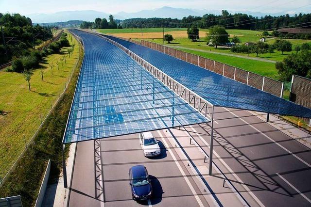 Freiburger Forscher wollen Strom über Straßen erzeugen
