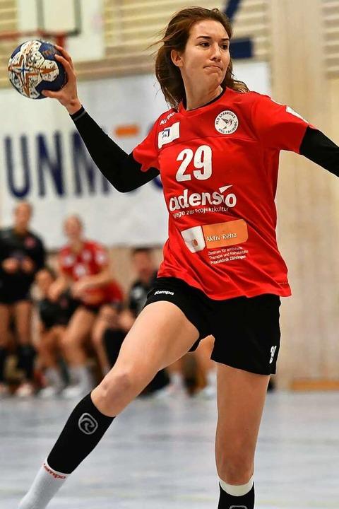 Maja Zeides fällt für die HSG Freiburg... die kommende Saison bereits zugesagt.    Foto: Achim Keller