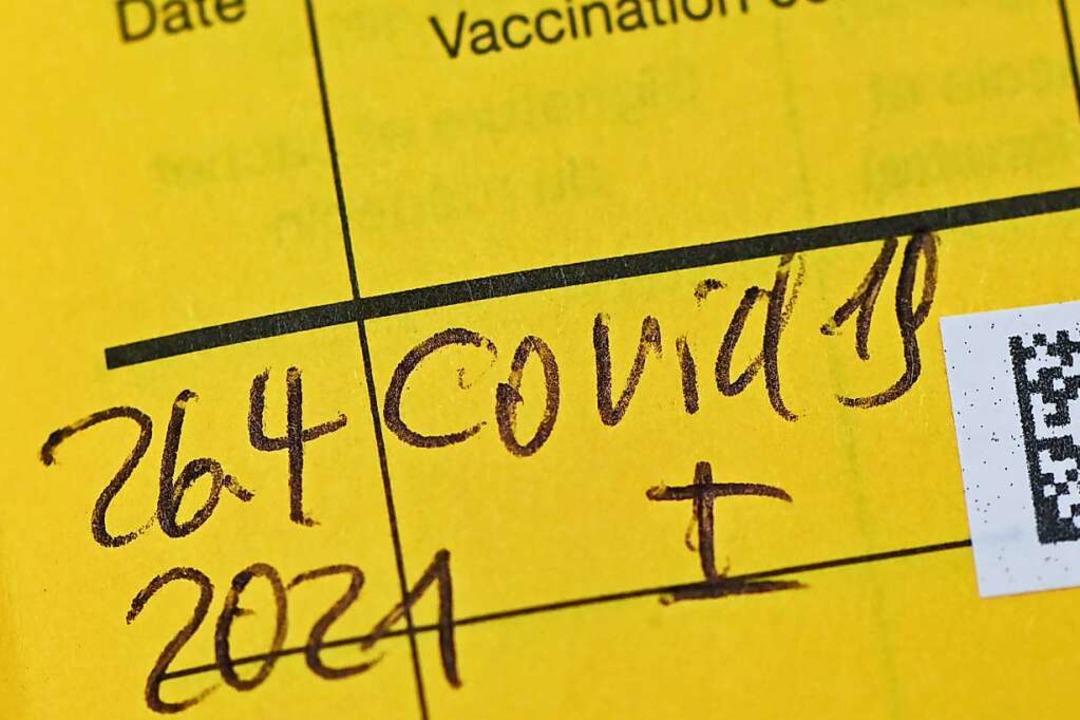 Mehr als 25,9 Prozent der Bevölkerung ...chen mindestens einmal geimpft worden.    Foto: Patrick Pleul (dpa)