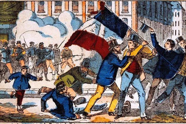 Michael Zachcials Projekt mit Liedern der Pariser Commune von 1871