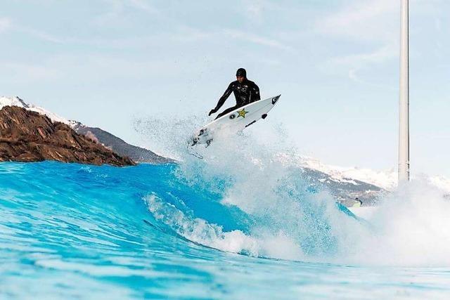 In der Schweiz eröffnet das erste Surfbecken Kontinentaleuropas