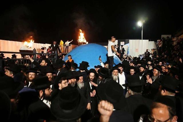 Zahlreiche Tote und Verletzte bei Massenpanik in Israel