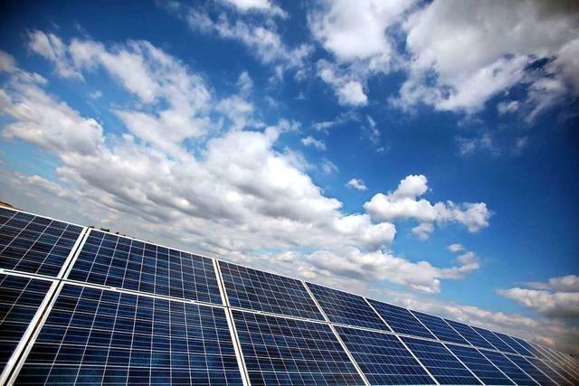 Der Eimeldinger Solarpark wird ein wenig kleiner