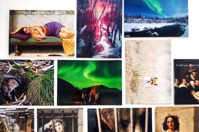 Paar macht aus ihrer Postkartenliebe ein Start-up für den guten Zweck