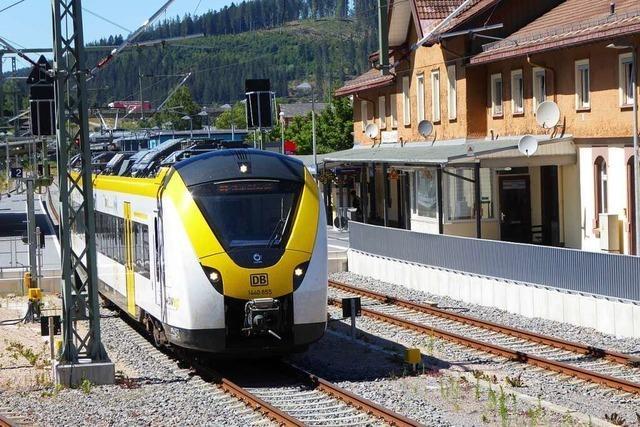 Bahnlinie im Höllental zwischen Kirchzarten und Hinterzarten wieder frei