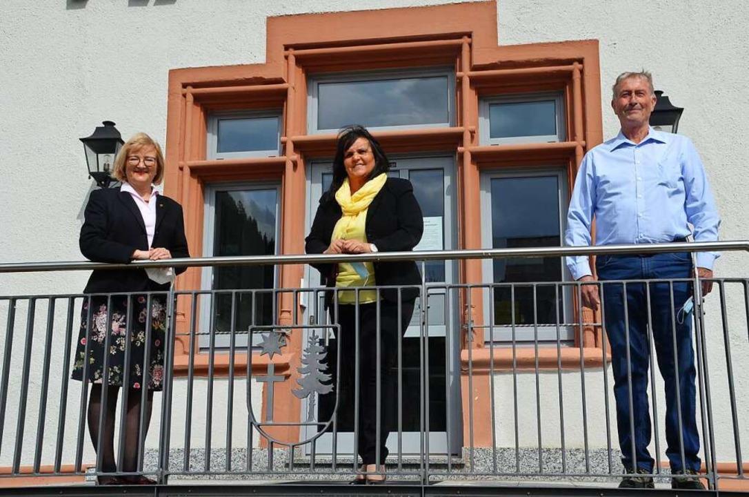 Am Tag gegen Lärm diskutierten die Lan...links) über das Thema Lärmbelästigung.    Foto: Christiane Sahli