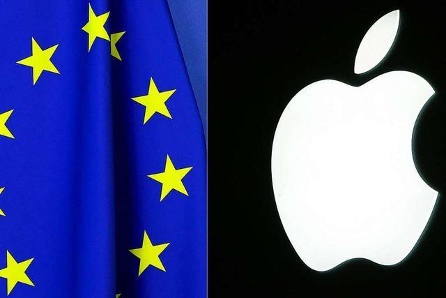 EU-Kommission: Apple betreibt unfairen Wettbewerb