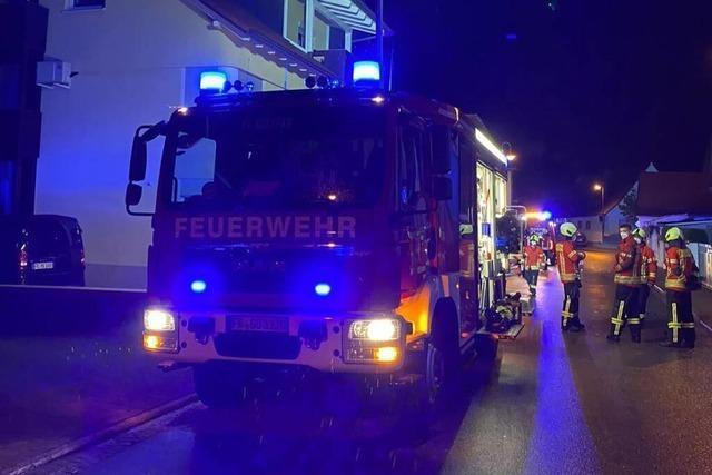 Ein Haus in Gottenheim ist nach einem Brand nicht bewohnbar