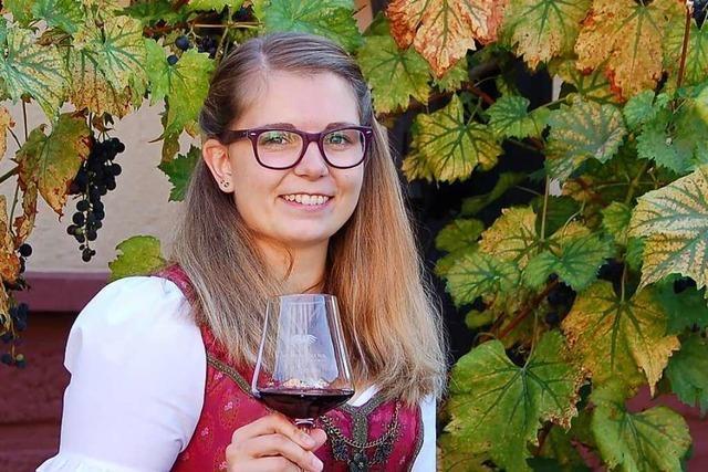 Hanna Mußler, bis Ende September Ortenauer Weinprinzessin