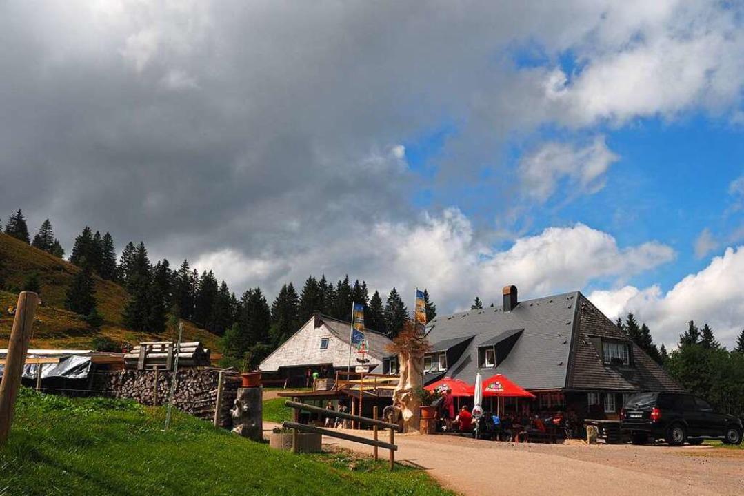 Die Baldenweger Hütte bleibt vorerst zu.    Foto: Susanne Gilg