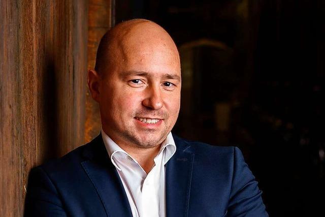 Christian Gehring, Geschäftsführer der Weinmanufaktur Gengenbach