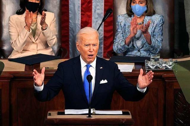 Präsident Biden möchte die gebeutelte Mittelschicht stärken