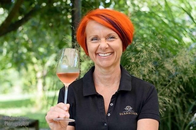 Iris Emmert aus Oberkirch hat sich zum Wein-Guide ausbilden lassen