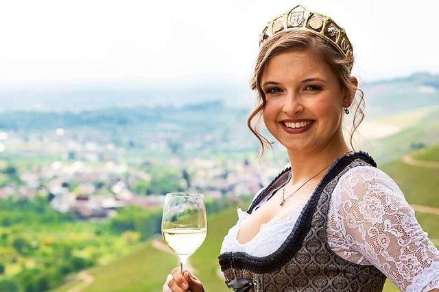 Sina Erdrich ist seit Anfang Juni Durbacher Weinprinzessin 2018/2019