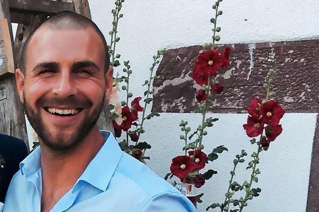 Florian Streif, Marketingleiter der Weinmanufaktur Gengenbach-Offenburg