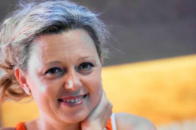 Natalie Lumpp, fernsehbekannte Sommelière und Weinprobenmoderatorin