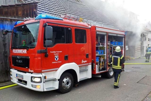 Die Kanderner Feuerwehr braucht 2024 einen neuen Kommandanten