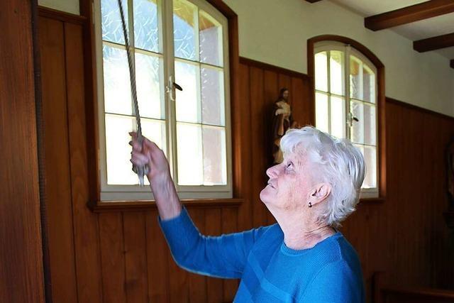 Margareta Behringer ist seit sechs Jahrzehnte Mesnerin in Aitern