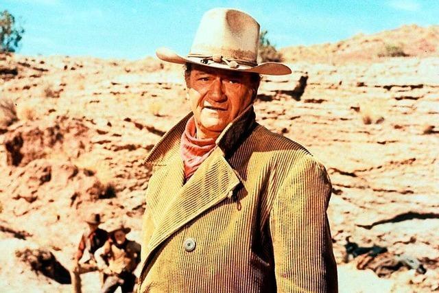 Bei John Wayne wäre Ruhe im Karton