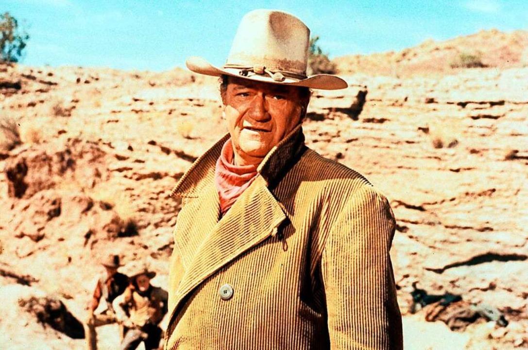 John Wayne, nicht der Freiburger Vollzugsdienst  | Foto: Tele 5