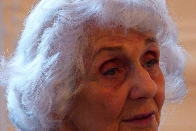 Eva Fahidi-Pusztai hat Auschwitz überlebt – erst im Alter konnte sie darüber sprechen