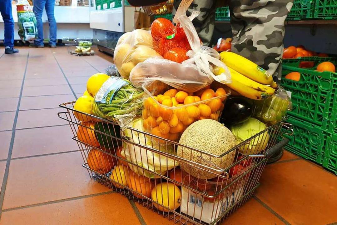 Waren  kosten meist wenige Cent &#8211...ich günstiger als in einem Supermarkt.    Foto: Theresa Steudel