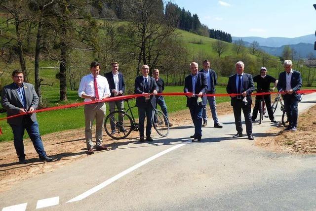 Der Radweg Eilet-Frischnau ist jetzt fertig und befahrbar