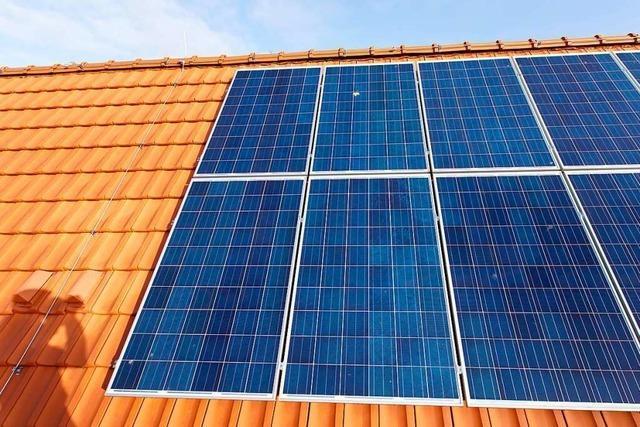 Die Fotovoltaik in Ringsheim wird stärker gefördert
