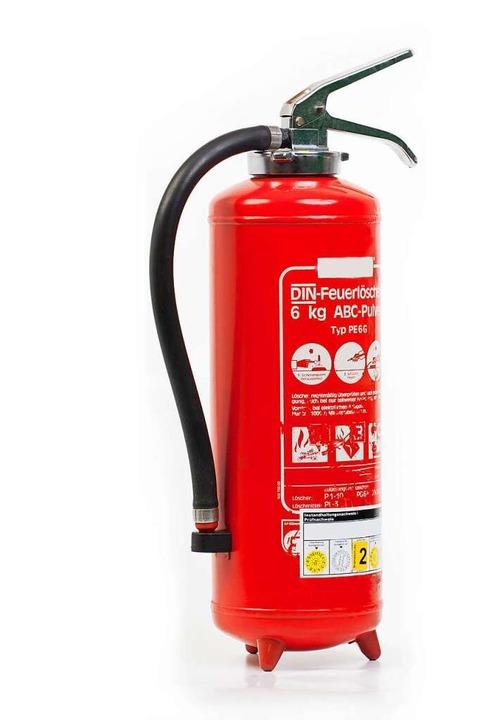 Feuerlöscher bereithalten – dann...n Eimer Sand, um ein Feuer zu löschen.  | Foto: hceinsDesign (stock.adobe.com)
