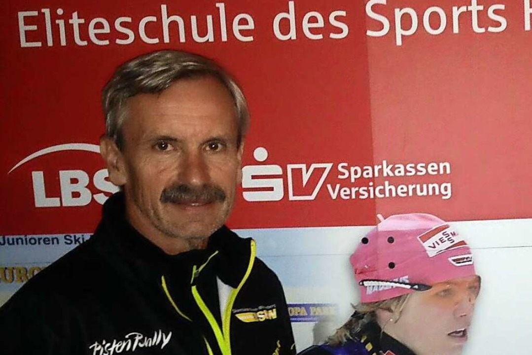 Trainer mit Leib und Seele: Dieter Not...ate alten Tochter in Kirchzarten lebt.  | Foto: SKIF