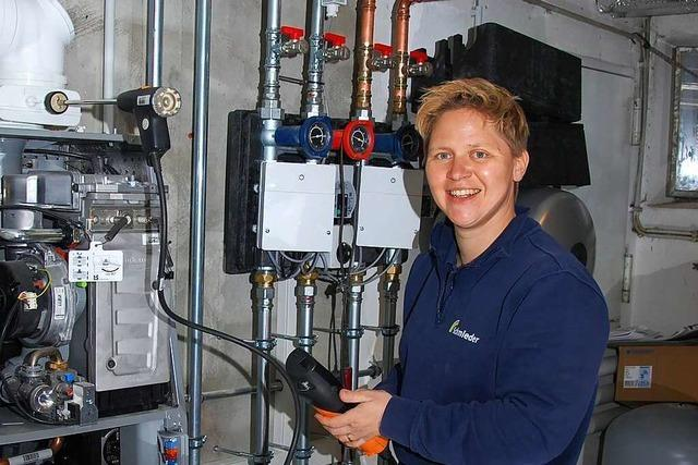 Eine Elektromeisterin aus Waldkirch hat im Handwerk ihre Erfüllung gefunden
