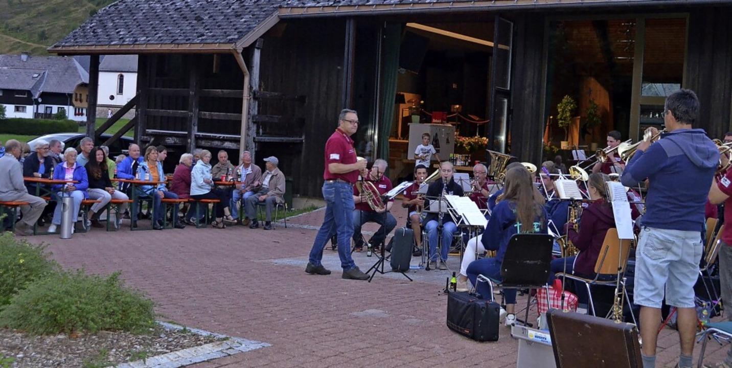 Sein Sommerfest will der Musikverein M...diesem Jahr gerne wieder veranstalten.  | Foto: Christiane Sahli
