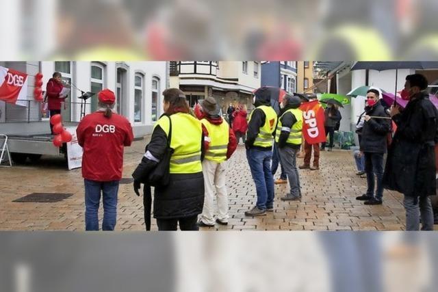DGB-Kundgebung zum Tag der Arbeit
